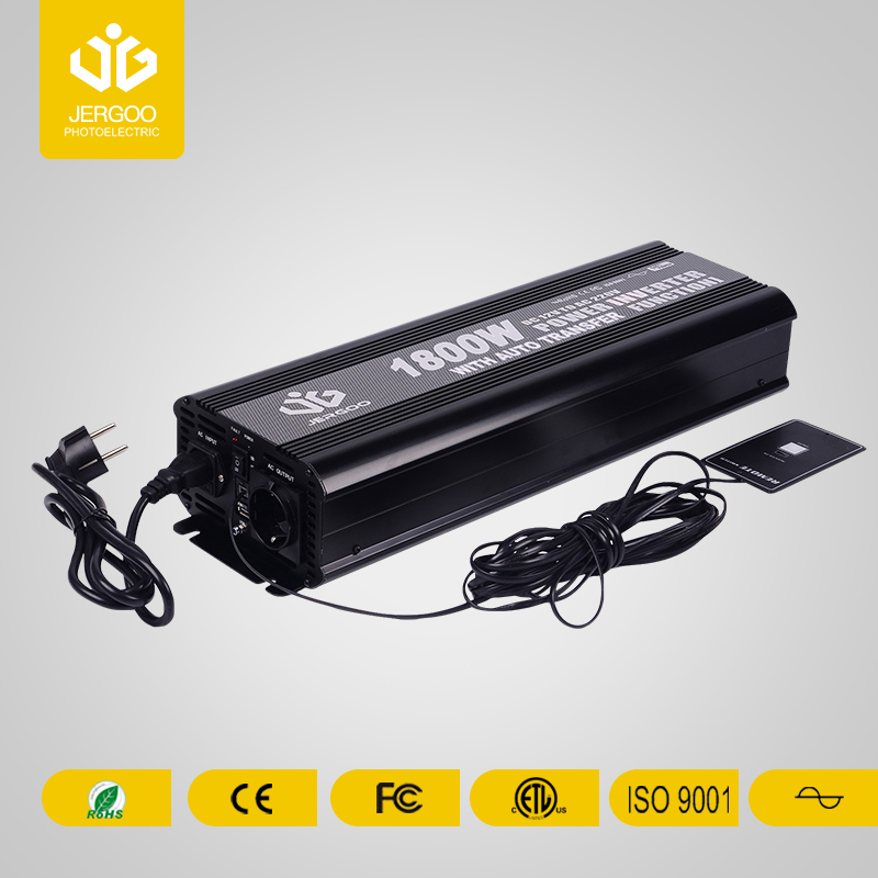 Pure sine wave high power inverter for RV1800W