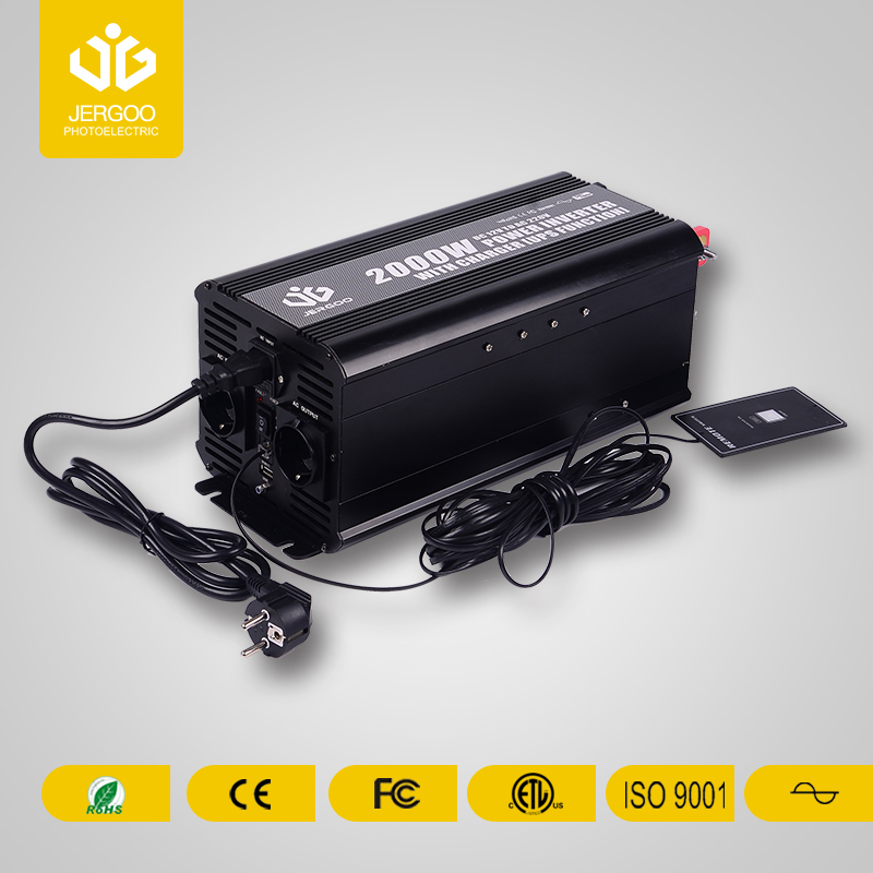 Pure sine wave high power inverter for RV2000W