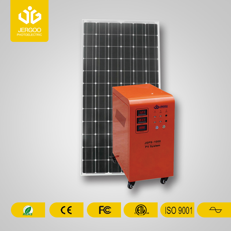 JGPS Series-Movable Solar Power System